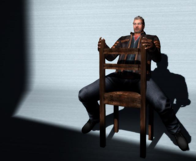 Come Sit in my chair - Petr Hastings-Vanbeeck