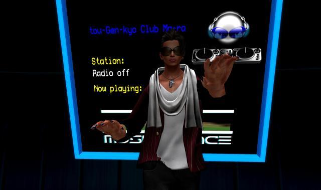 DJ Camel spinning classic dance mixes.