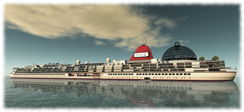 SS Galaxy - set to return to SL