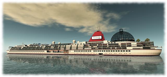 SS Galaxy - set to return to SL